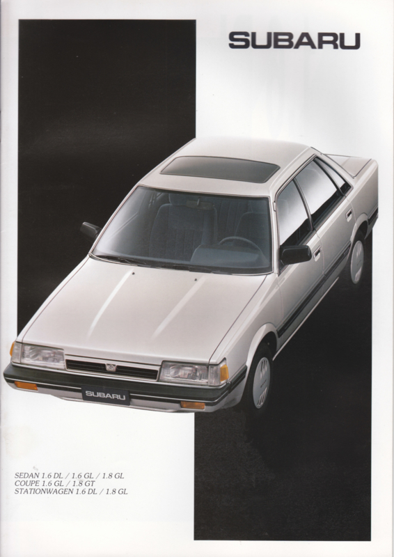 L-Series Sedan/Coupé/Stationwagon brochure, 16 pages, Dutch language, 1988