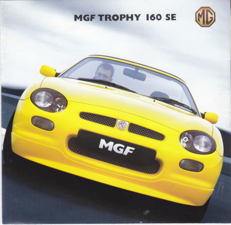 F Convertible Trophy 160 SE brochure, 12 pages, # 5744, 2001, English language