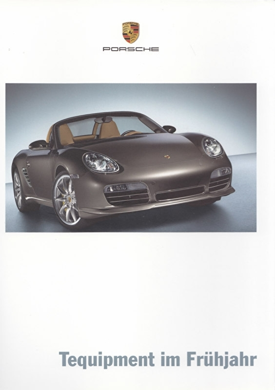 Tequipment Spring brochure + pricelist, 16 + 16 pages, 02/2006, German language