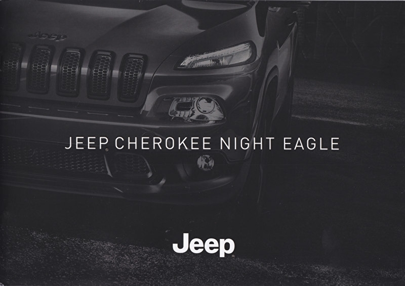 Cherokee Night Eagle, brochure, 14 pages, 10/2015, Dutch language