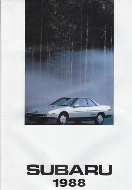 Program brochure, 16 pages, Dutch language, Belgium, 1988