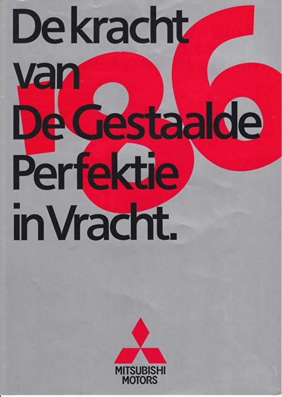 Commercials brochure, 8 pages, 1986, Dutch language