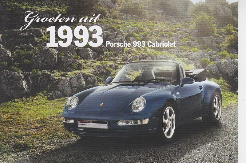 993 Cabriolet 1993, Classic, Dutch, A6-size