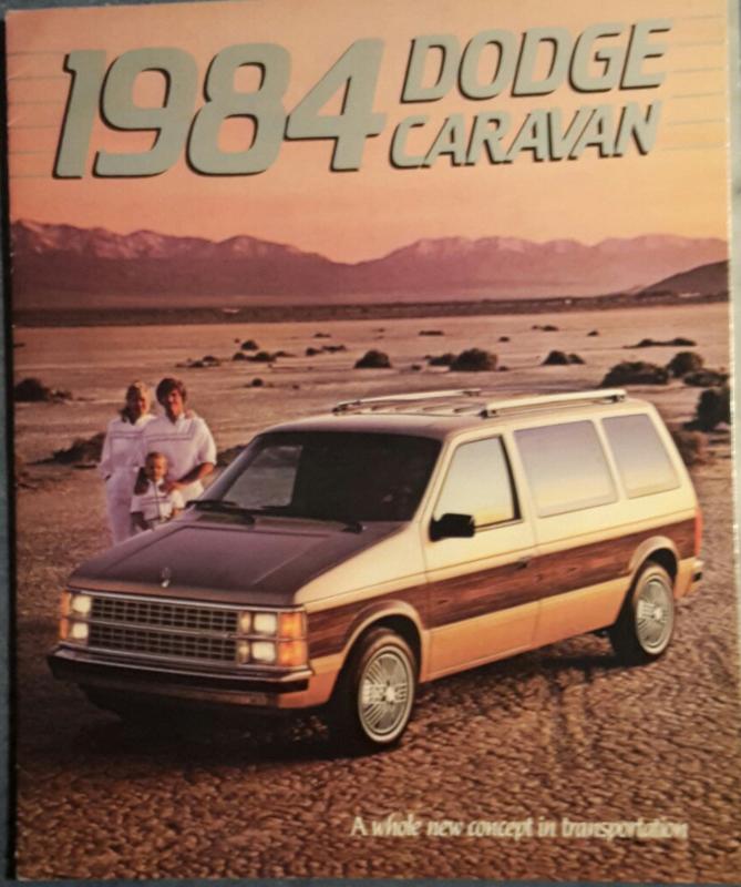 Caravan brochure, 22 large pages, 1984, English language, USA