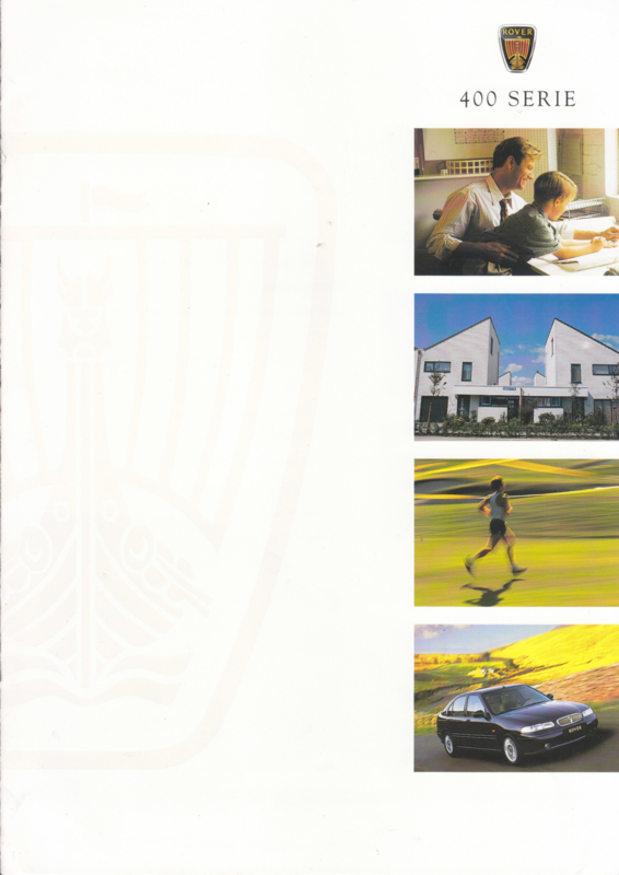 400 Sedan brochure, 8 pages, A4-size, 05/1998, Dutch language
