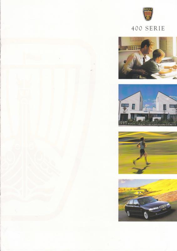 400 Sedan brochure, 8 pages, A4-size, 05/1998, Dutch language