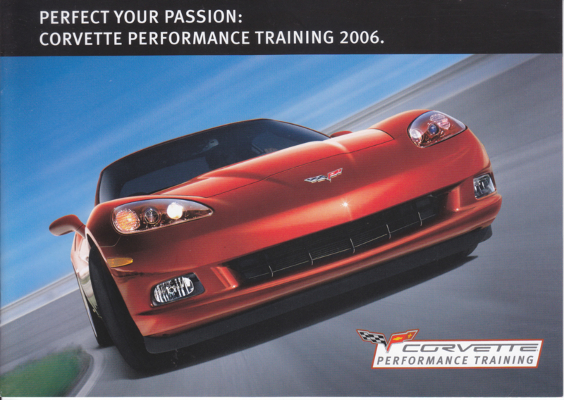 Corvette Performance Training 2006, 8 pages, 3 languages, DIN A5