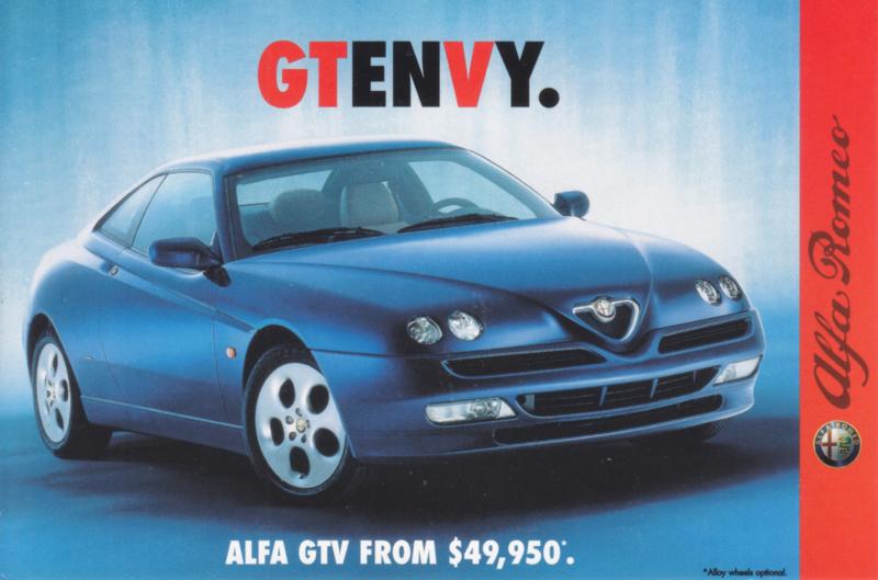 GTV postcard, DIN A6-size, English language, 2000, # 4997