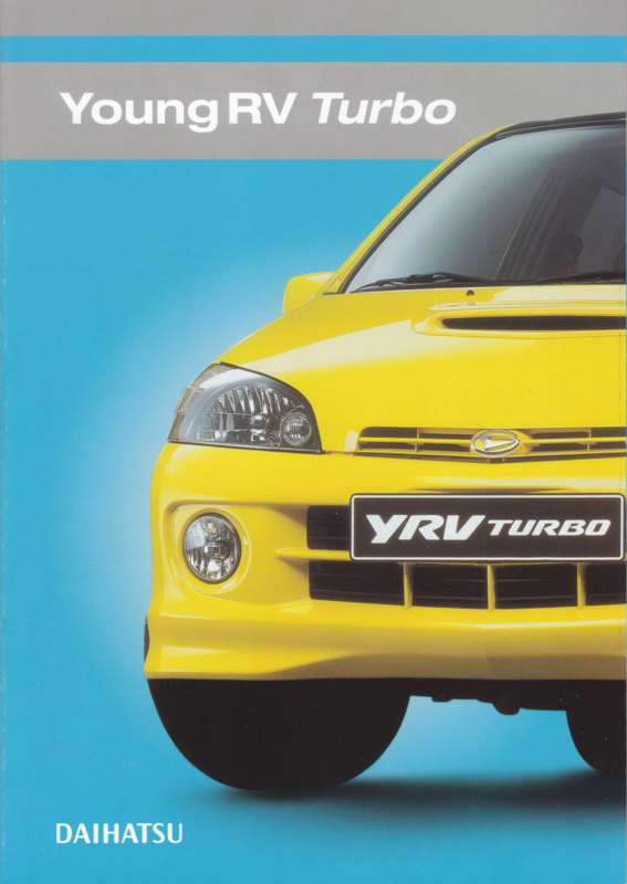 Young RV Turbo brochure, 6 pages, 05/2002, Dutch language