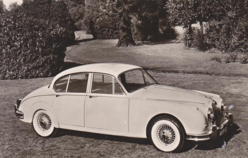 Jaguar Mark 2 Saloon, Spanjersberg, date 561, # 93