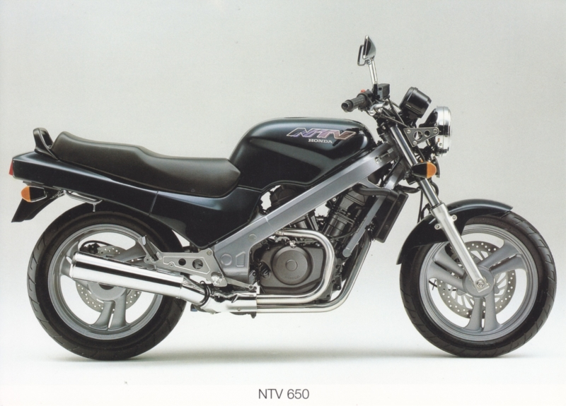 Honda NTV 650 postcard, 18 x 13 cm, no text on reverse, about 1994