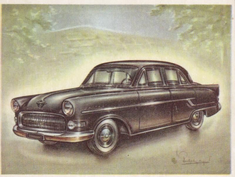 Opel Kapitän Sedan 1956, Full Speed, Dutch language, # 125