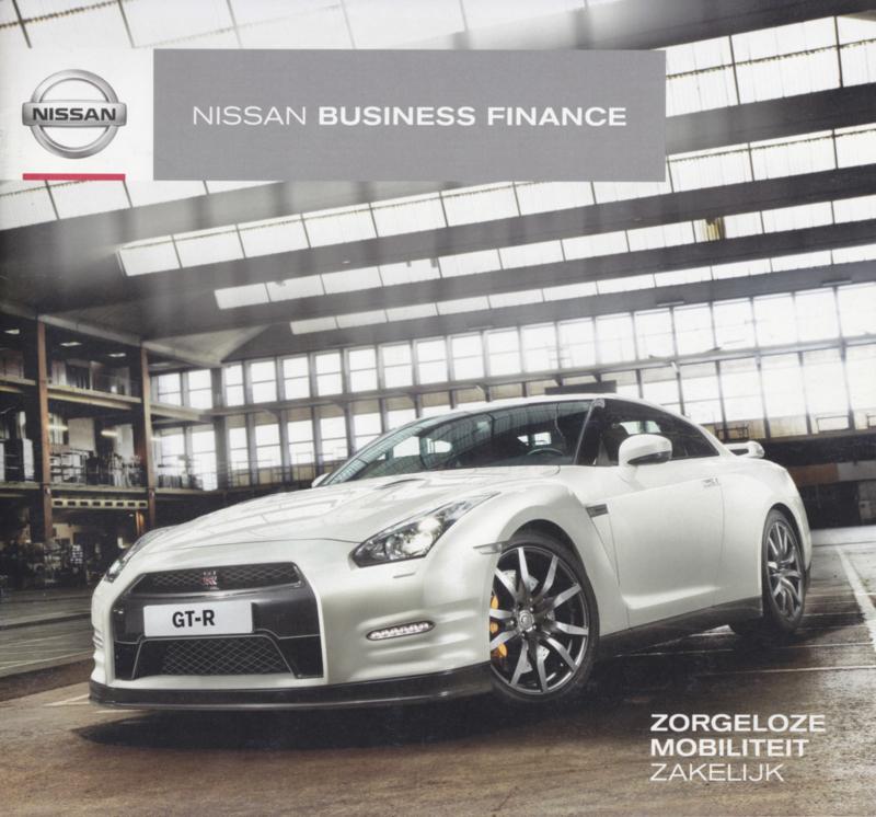 Business Finance brochure, 12 pages, c2012, Dutch language