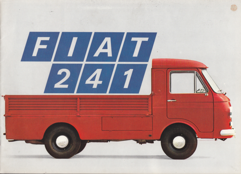 241 Vans & Pickups brochure, 8 pages, 02/1972, Dutch language