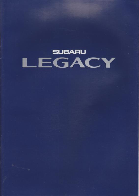 Legacy brochure, 38 pages, Dutch language, 1991