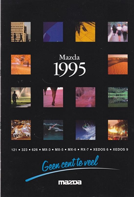 Program 1995 brochure, 20 pages, Dutch language