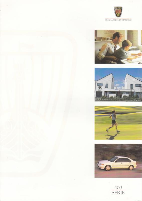 400 Sedan brochure, 6 pages, A4-size, 2/1997, Dutch language