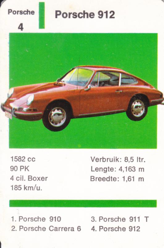 912 Coupé - number 4 - size 10 x 6,5 cm, Dutch language