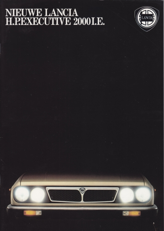 H.P. Executive 2000 I.E. brochure, A4-size, 30 pages, about 1982, Dutch language