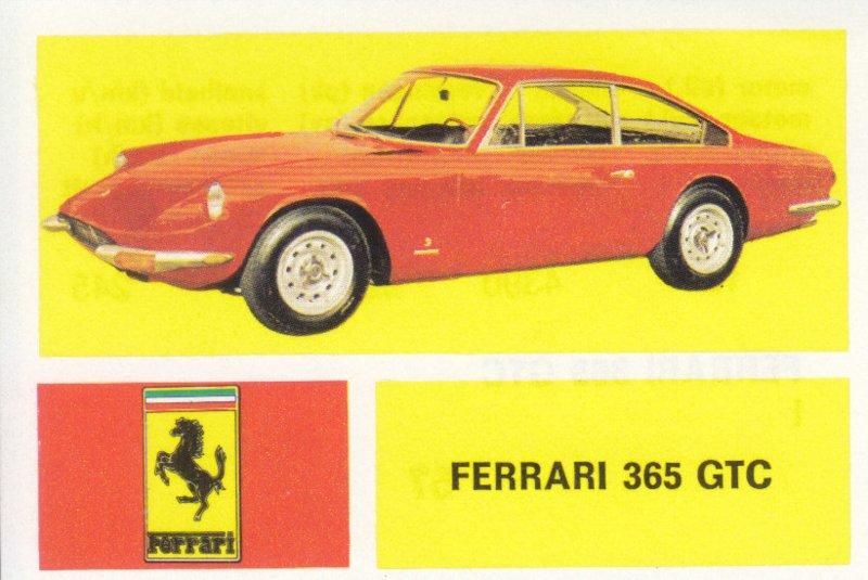 Ferrari 365 GTC, 4 languages, # 57