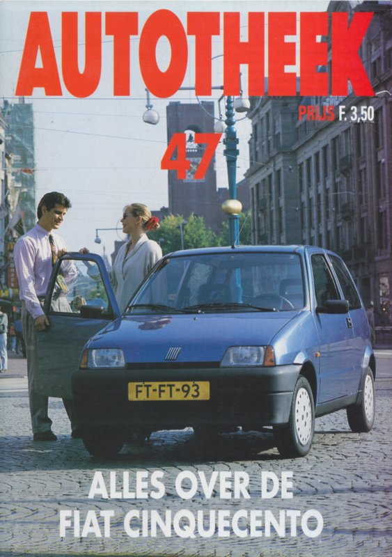 issue # 47, Fiat Cinquecento, 32 pages, 11/1992, Dutch language