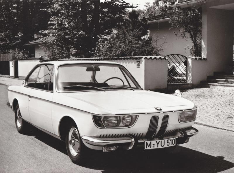 BMW 2000 CS - 1969 - German text on the reverse