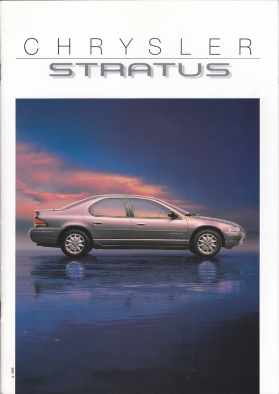 Stratus brochure + separate specs., A4-size, 24 + 4 pages, 11/1995, German language