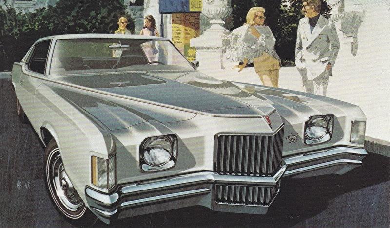 Grand Prix Hardtop Coupe, 1971, standard-size, USA