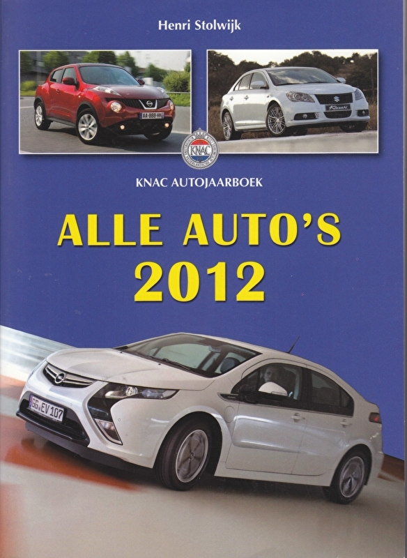 All Cars (Alle Auto's) 2012, 400 pages, Dutch, ISBN 978-90-6013-368-2