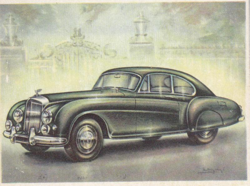 Bentley Continental Sports Saloon 1953, Full Speed, Dutch language, # 169