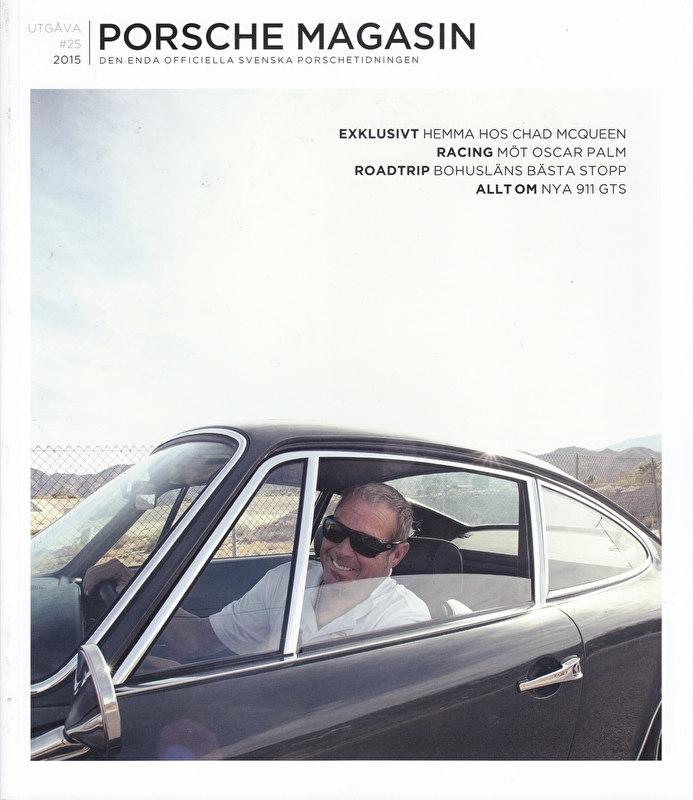 Porsche Magasin, Swedish language, # 25, 2015, 100 pages