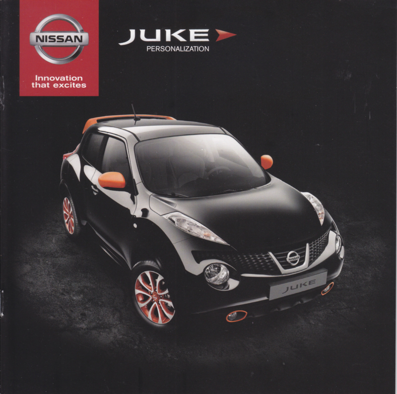Juke personalization brochure, 20 pages, 02/2014, Dutch language