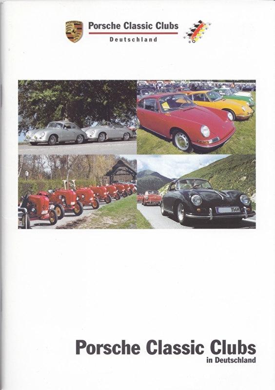 Porsche Clubs brochure, 44 pages, 03/2006, German