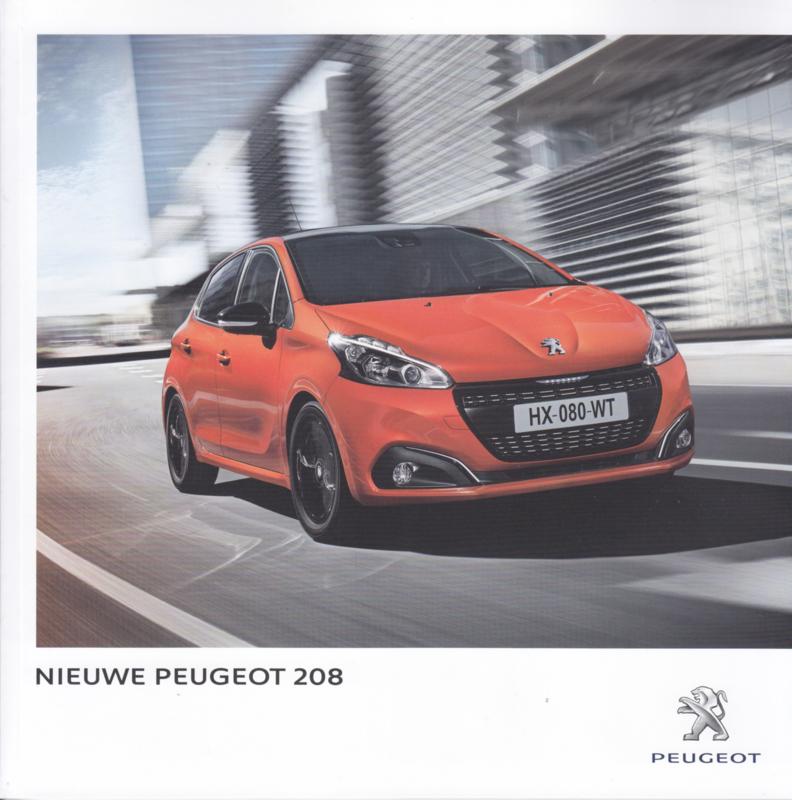 208 brochure, 48 pages, Dutch language, 06/2015, Belgium