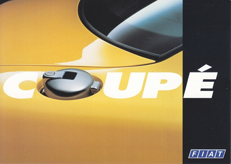 Coupe, A6-size postcard, about 1993