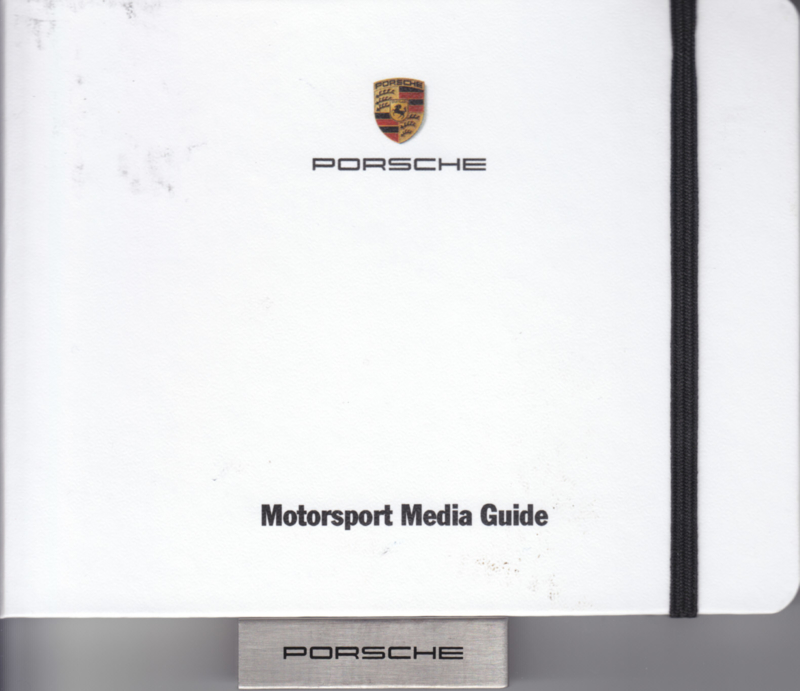 Porsche Motorsport 2016, memory stick with pictures, NO booklet, factory-issued,  German/English