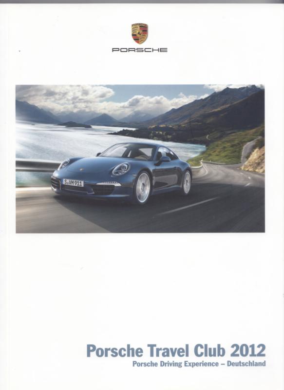 Travel Club 2012 brochure, 150 pages, 10/2011, German language