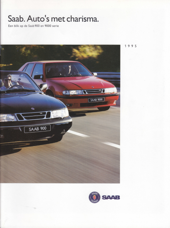 Program brochure, 36 pages, 1995, Dutch language, # 264903