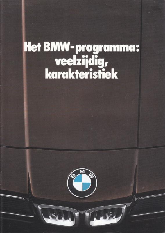 Program 1979 brochure, 16 pages, A4-size, 2/1978, Dutch language