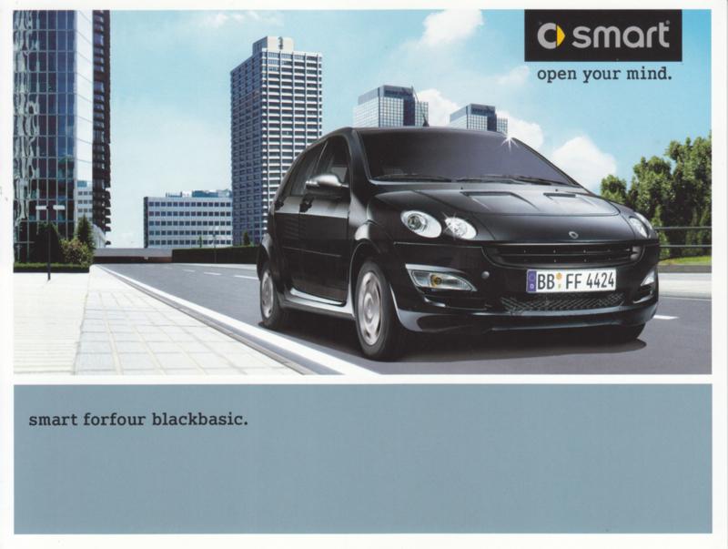 Forfour Blackbasic brochure, 6 pages, 03/2004, Dutch language