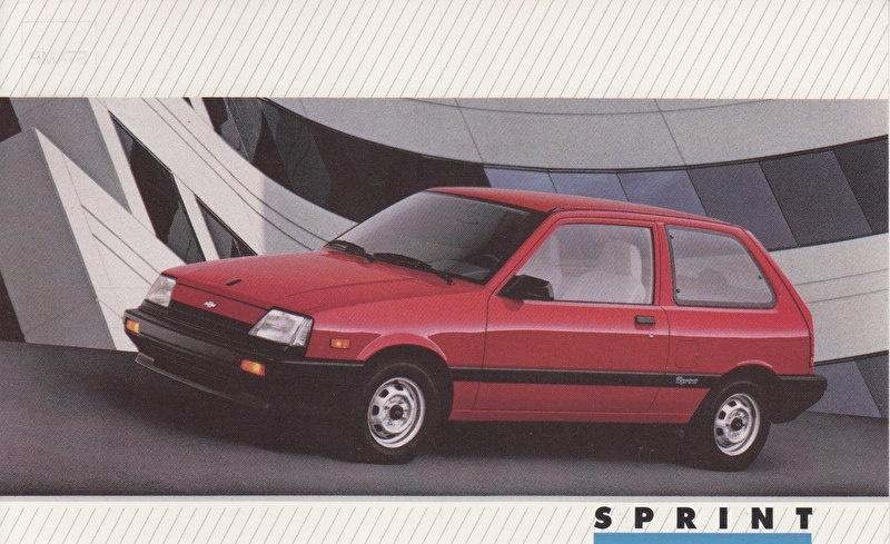 Sprint,  US postcard, large size, 19 x 11,75 cm, 1988