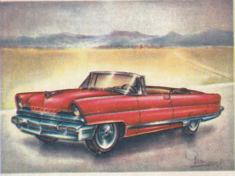 Lincoln Premiere Convertible 1956, Full Speed, Dutch language, # 123