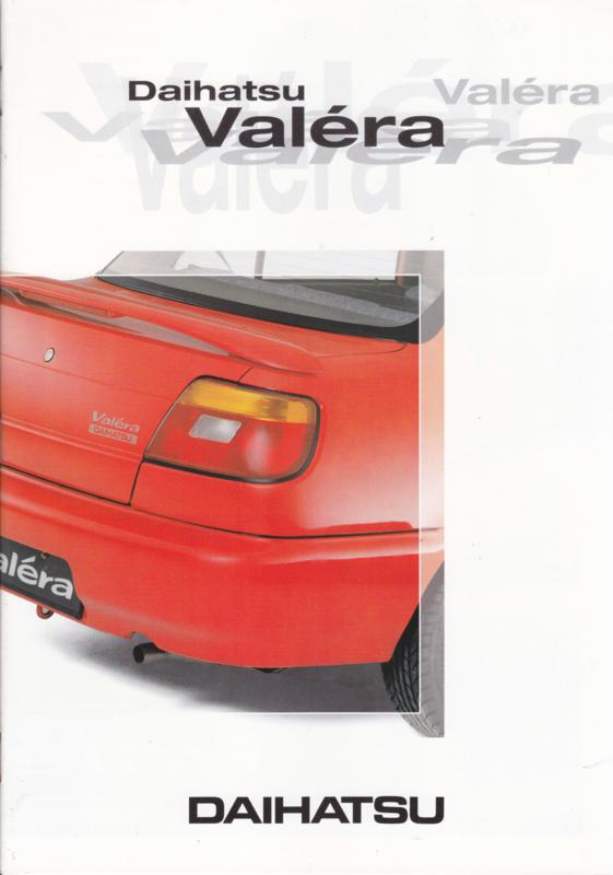 Valéra brochure, 16 pages, about 1997, A4-size, Dutch language