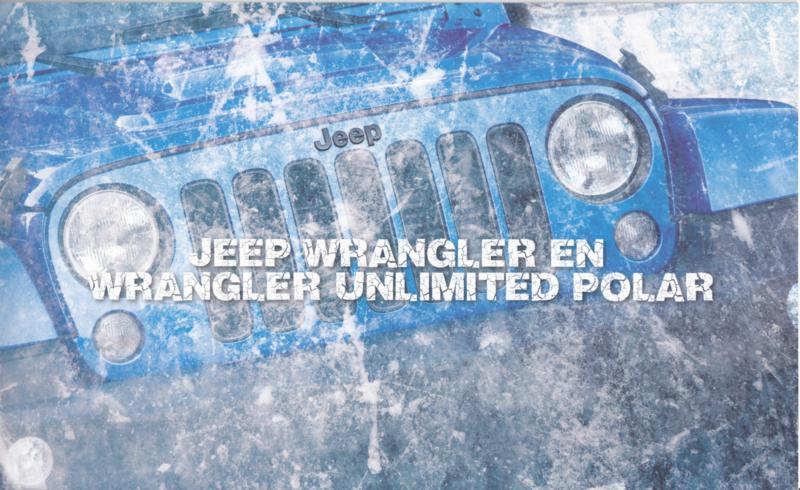 Wrangler Polar brochure, 12 pages, about 2014, Dutch language (Belgium)