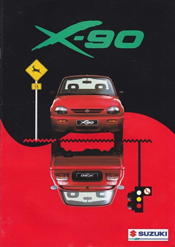 X-90 brochure, 12 pages, #90996, 1997, Dutch language
