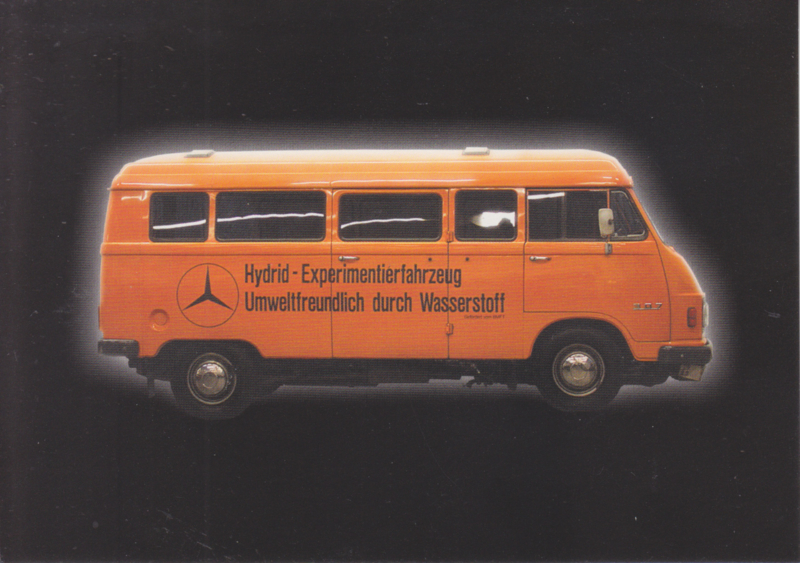 Mercedes-Benz L 306 1974, Classic Car(d) of the month 1/2003, Germany