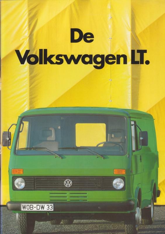 LT brochure, 40 pages,  A4-size, Dutch language, 08/1984