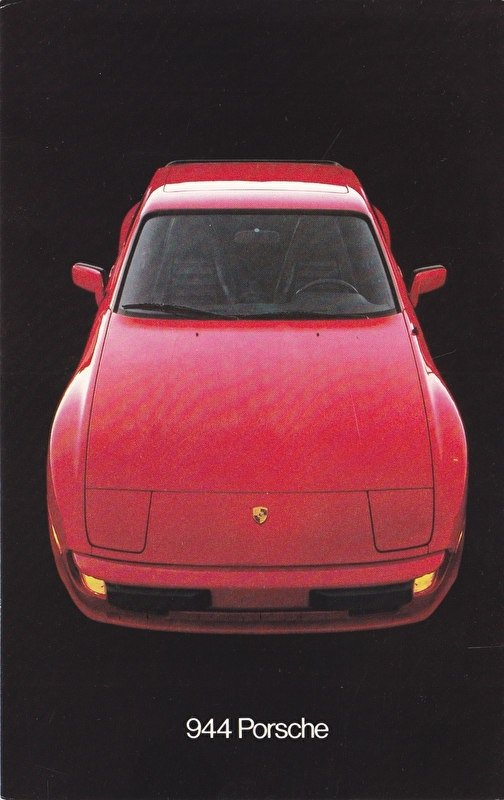 944 Coupe, US postcard, 1982, W74-792-1061