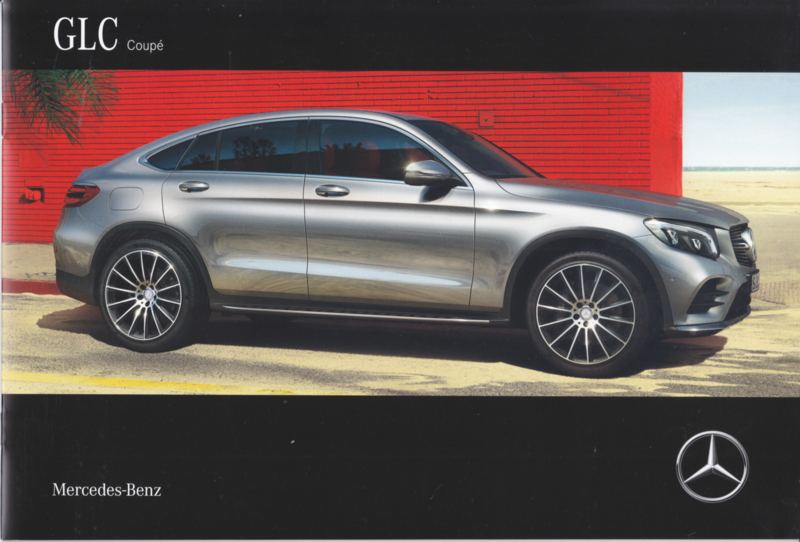 GLC Coupé brochure, 20 pages, 06/2016, Dutch language
