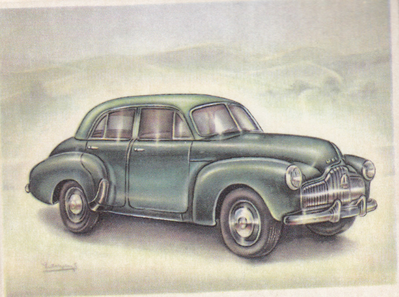 Holden 48/215 Saloon 1951, Full Speed, Dutch language, # 146